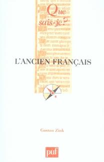 L'ANCIEN FRANCAIS