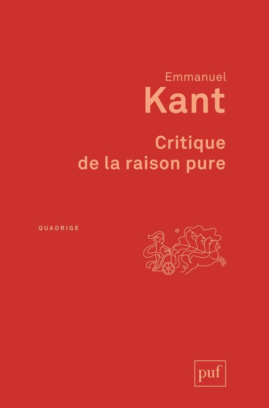 KANT EMMANUEL - CRITIQUE DE LA RAISON PURE - TRADUCTION FRANCAISE AVEC NOTES PAR A. TREMESAYGUES ET B. PACAUD