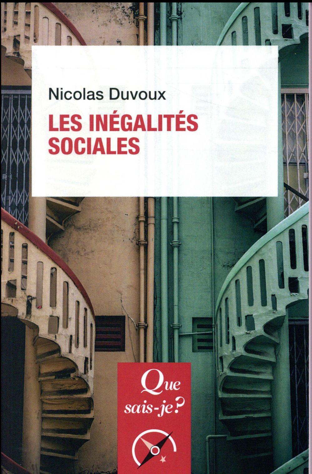 LES INEGALITES SOCIALES