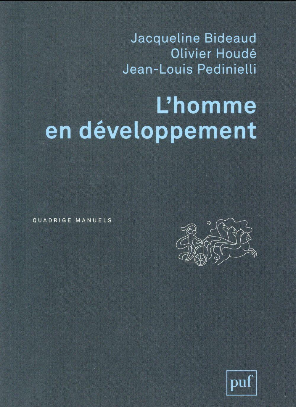L'HOMME EN DEVELOPPEMENT (2E EDITION) BIDEAUD/HOUDE PUF