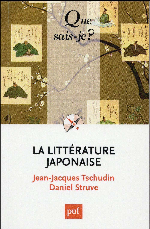 LA LITTERATURE JAPONAISE (2ED) QSJ 710
