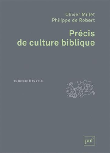 PRECIS DE CULTURE BIBLIQUE
