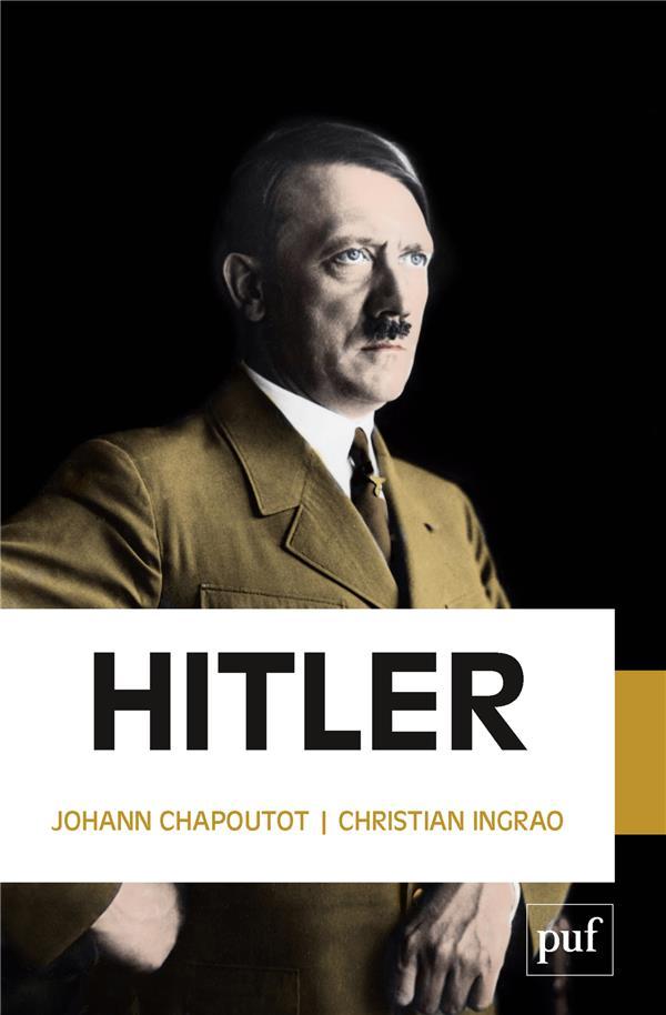 HITLER CHAPOUTOT JOHANN / I PUF