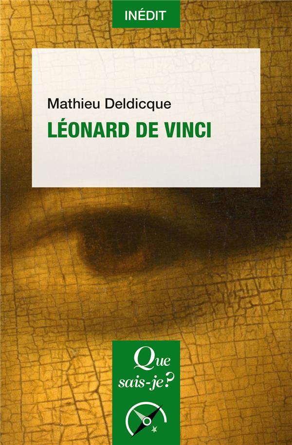LEONARD DE VINCI DELDICQUE MATHIEU PUF