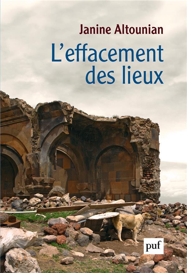 L-EFFACEMENT DES LIEUX - AUTOB ALTOUNIAN JANINE PUF