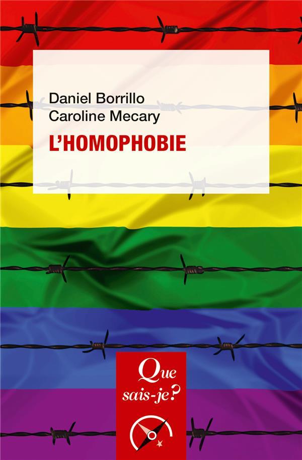L-HOMOPHOBIE MECARY/BORRILLO QUE SAIS JE