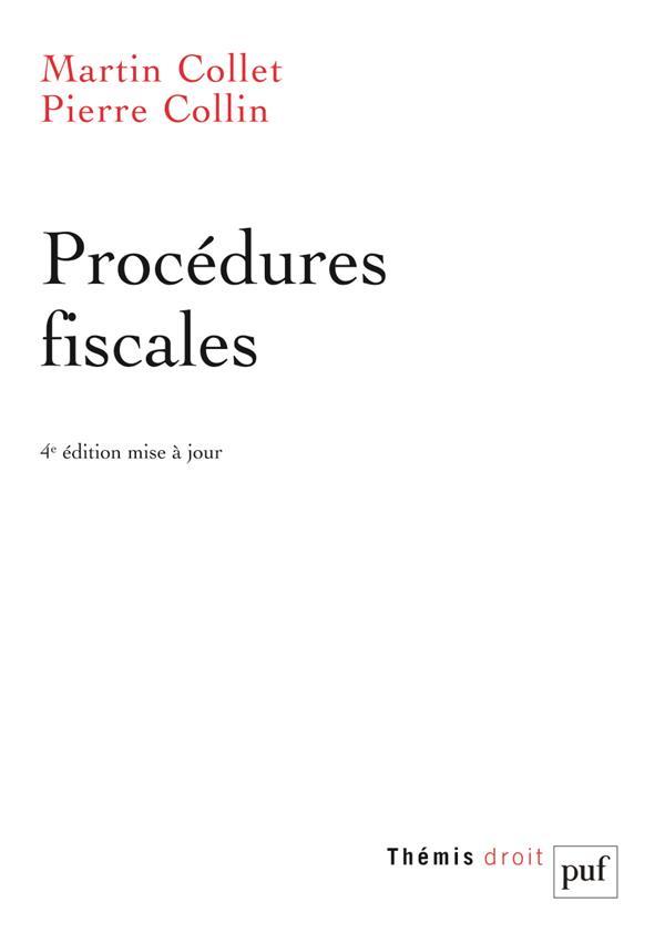 PROCEDURES FISCALES