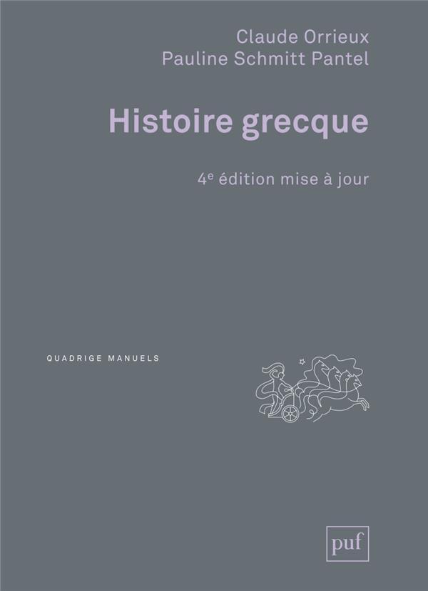 HISTOIRE GRECQUE (4E EDITION)