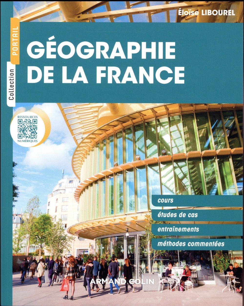 GEOGRAPHIE DE LA FRANCE LIBOUREL ELOISE NATHAN