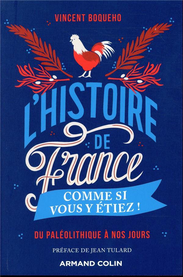 L-HISTOIRE DE FRANCE COMME SI BOQUEHO/TULARD ARMAND COLIN