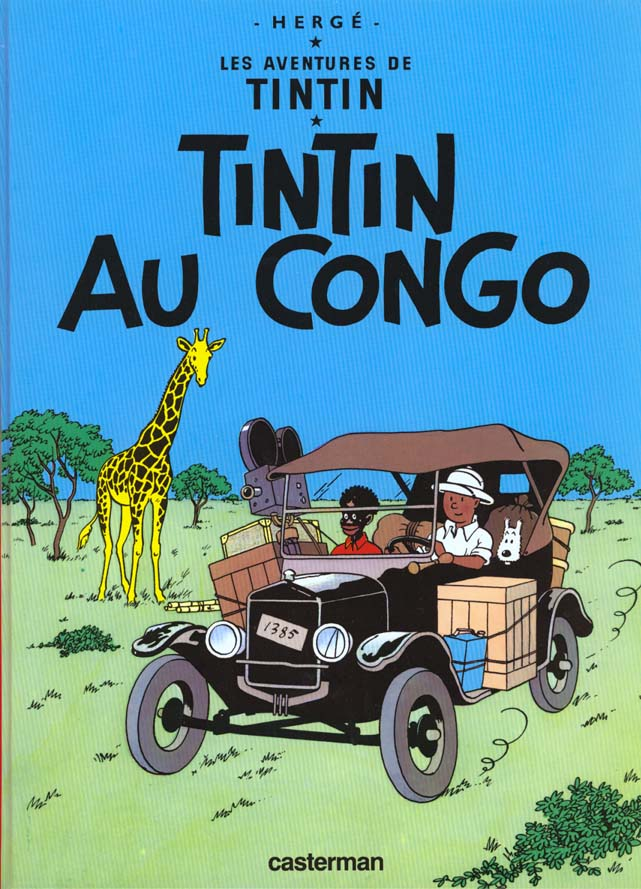 LES AVENTURES DE TINTIN T.2  -  TINTIN AU CONGO