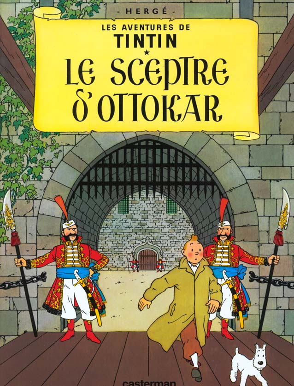 LES AVENTURES DE TINTIN T.8  -  LE SCEPTRE D'OTTOKAR HERGE CASTERMAN