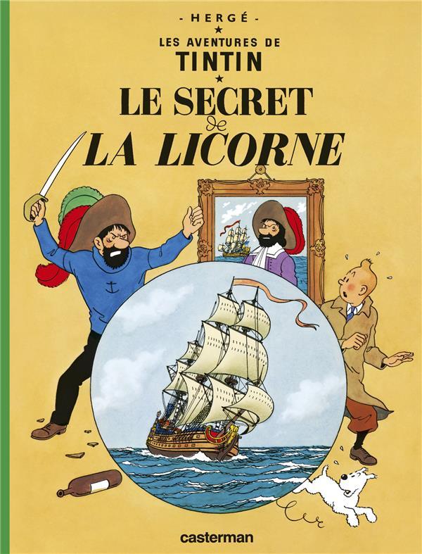 LE SECRET DE LA LICORNE T11 HERGE/ CASTERMAN