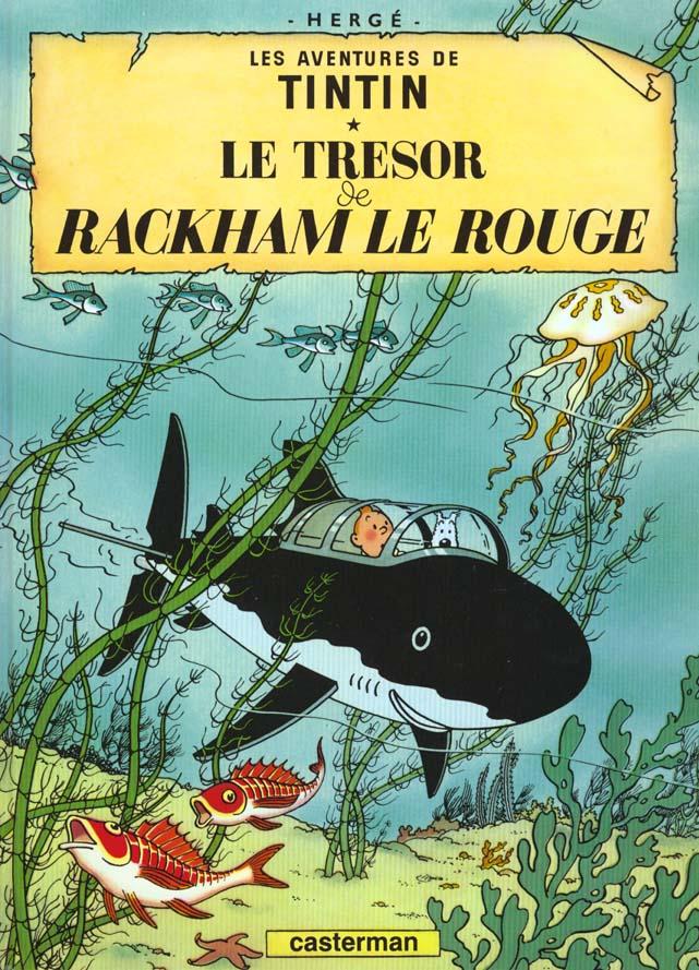 LES AVENTURES DE TINTIN T.12  -  LE TRESOR DE RACKHAM LE ROUGE