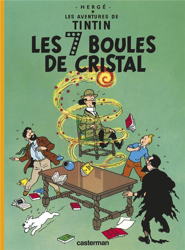 LES AVENTURES DE TINTIN T.13  -  LES 7 BOULES DE CRISTAL