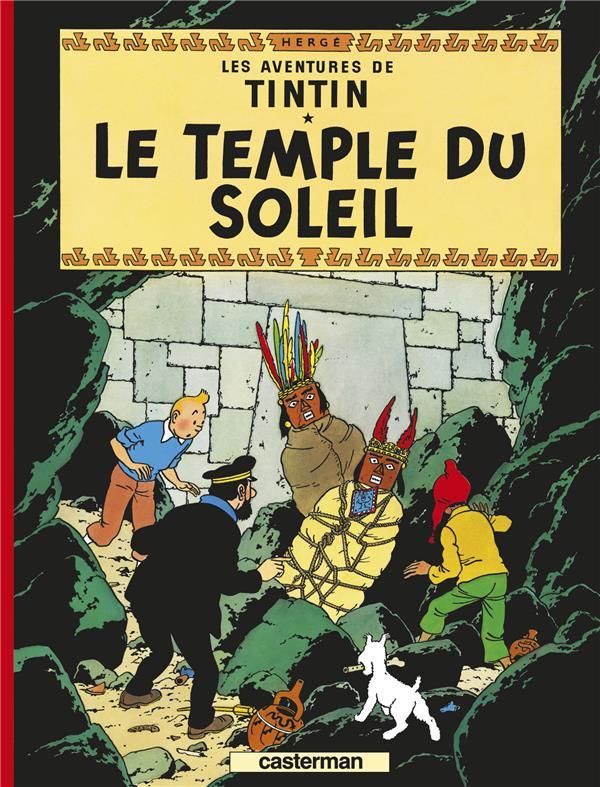 LES AVENTURES DE TINTIN T.14  -  LE TEMPLE DU SOLEIL