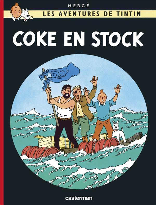 COKE EN STOCK T19 HERGE/ CASTERMAN