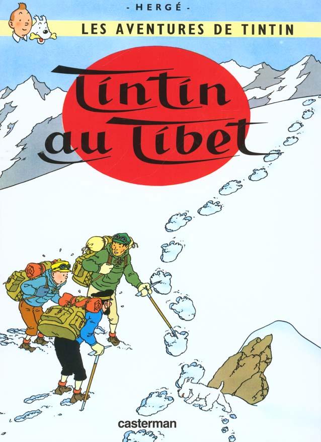 LES AVENTURES DE TINTIN T.20  -  TINTIN AU TIBET