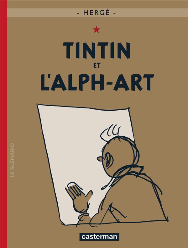 TINTIN - T24 - TINTIN ET L'ALPH-ART HERGE/ CASTERMAN
