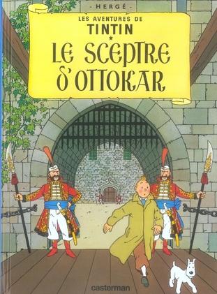 LE SCEPTRE D'OTTOKAR - LES PETITS FORMATS COULEURS - T8 HERGE/ CASTERMAN
