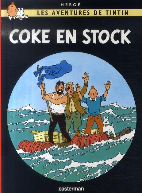 COKE EN STOCK - LES PETITS FORMATS COULEURS - T19 HERGE/ CASTERMAN
