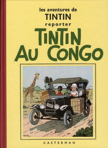TINTIN T2 TINTIN AU CONGO N&B (PF)