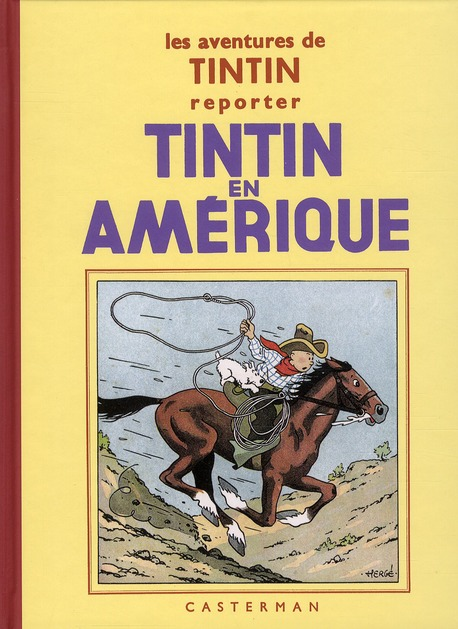 TINTIN T3 TINTIN EN AMERIQUE N&B (PF)
