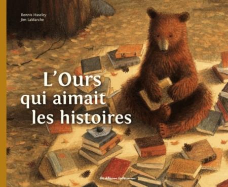L'OURS QUI AIMAIT LES HISTOIRES HASELEY/LAMARCHE Casterman