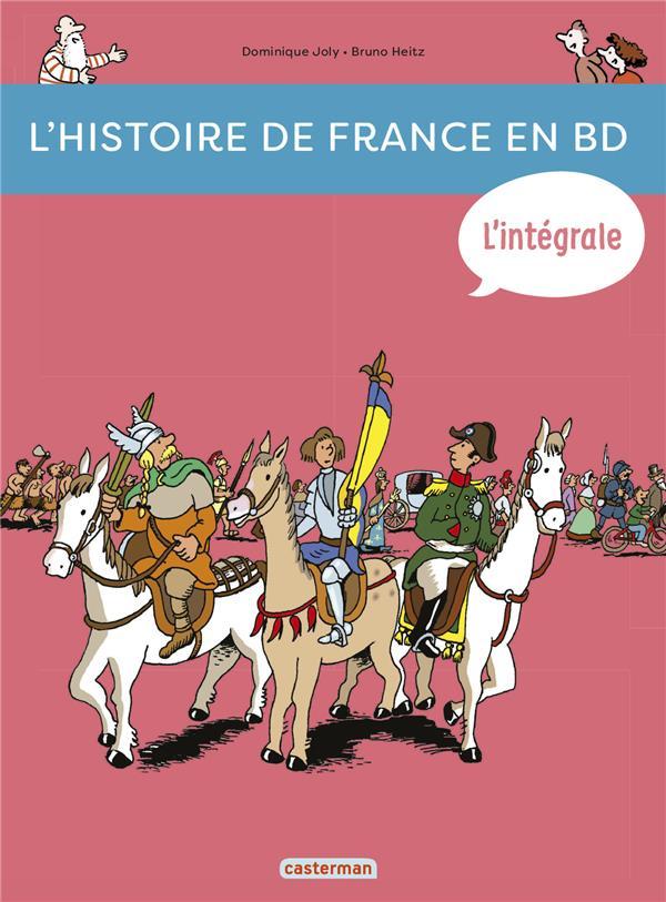 L'INTEGRALE - DE LA PREHISTOIRE...A NOS JOURS Heitz Bruno Casterman