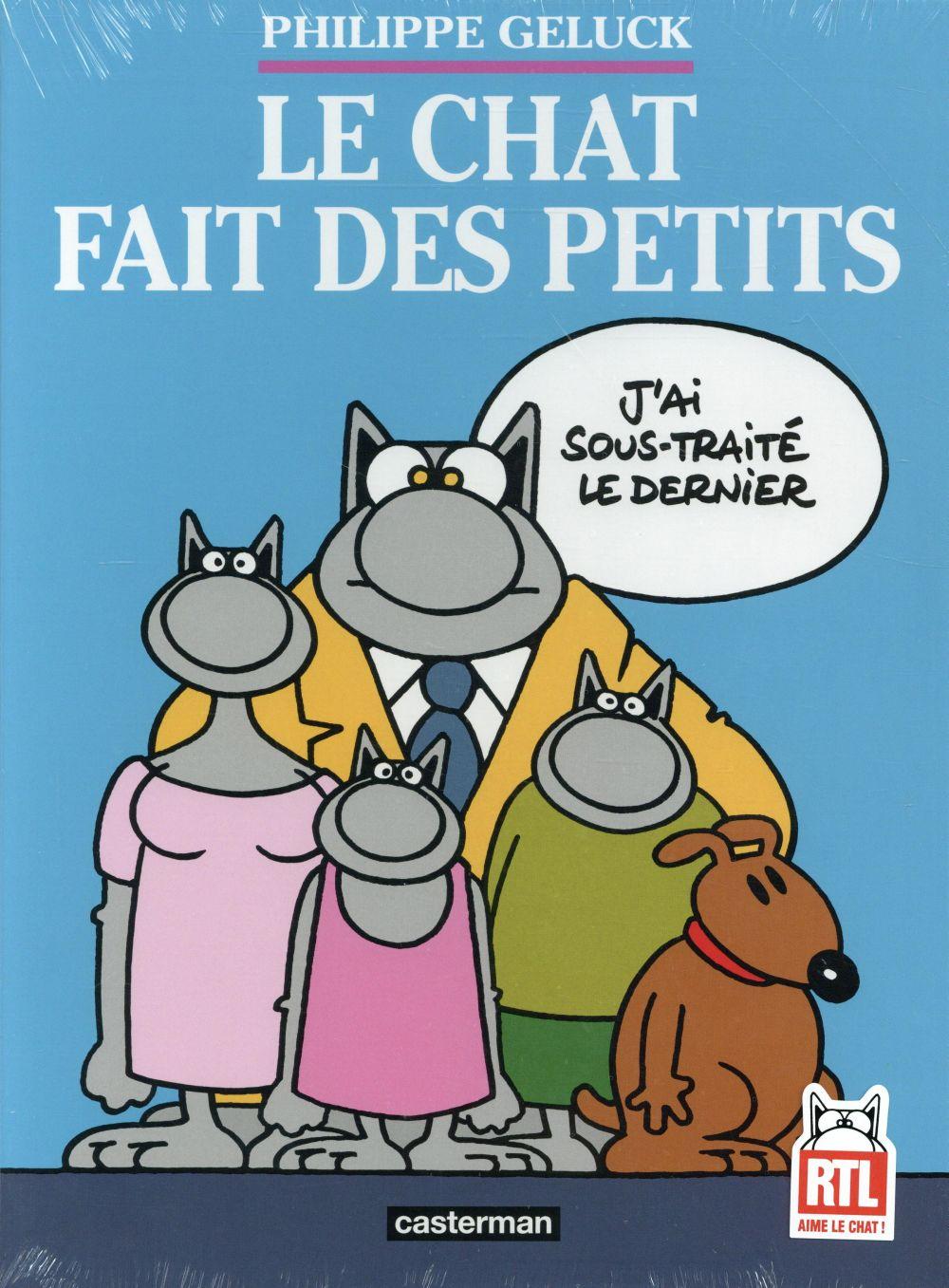 LE CHAT T.20  -  LE CHAT FAIT DES PETITS GELUCK/DEHAES Casterman