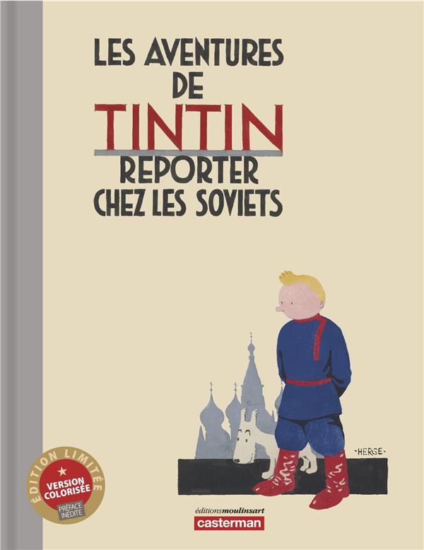 Hergé - TINTIN AU PAYS DES SOVIETS COULEUR LUXE