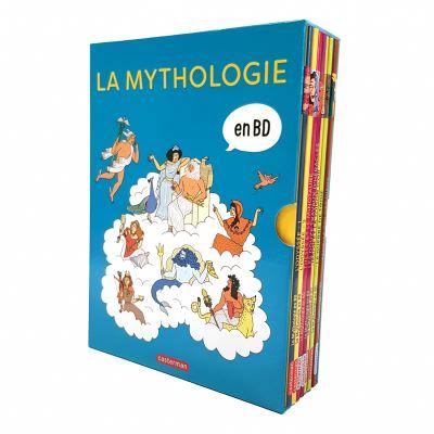 COFFRET LA MYTHOLOGIE EN BD