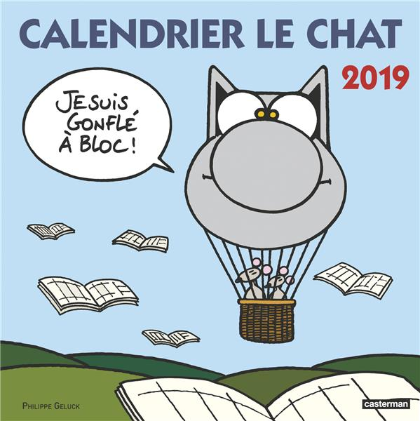 CALENDRIER LE CHAT 2019