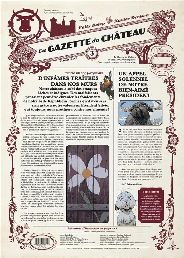 LE CHATEAU DES ANIMAUX  -  LA GAZETTE DU CHATEAU N.3