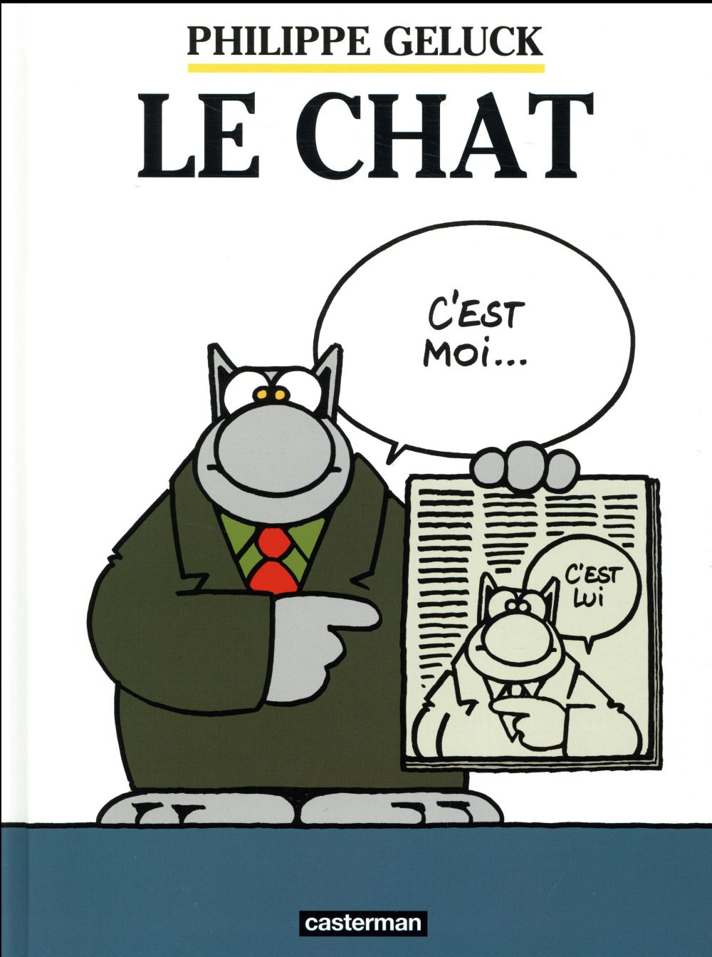 LE CHAT T.1 GELUCK/PROCUREUR CASTERMAN
