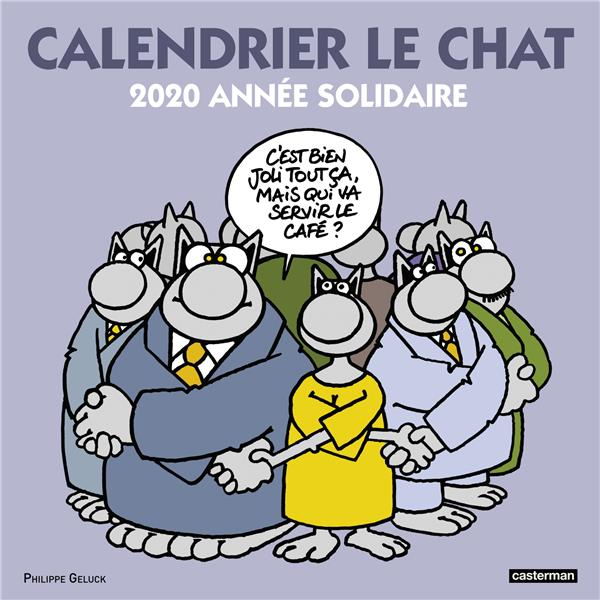 LE CHAT  -  CALENDRIER (EDITION 2020)