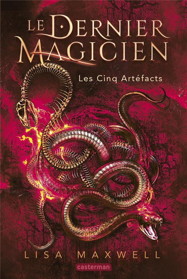 LE DERNIER MAGICIEN T.2  -  LES CINQ ARTEFACTS MAXWELL LISA CASTERMAN