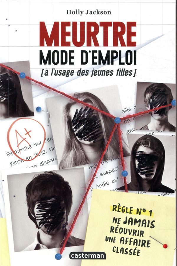 JACKSON, HOLLY - MEURTRE MODE D'EMPLOI (A L'USAGE DES JEUNES FILLES)