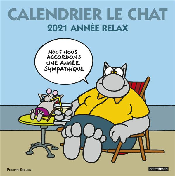 LE CHAT  -  CALENDRIER (EDITION 2021)