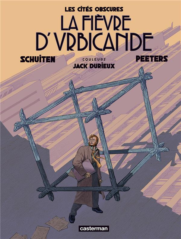 PEETERS, BENOIT  - LA FIEVRE D'URBICANDE - EDITION COULEUR