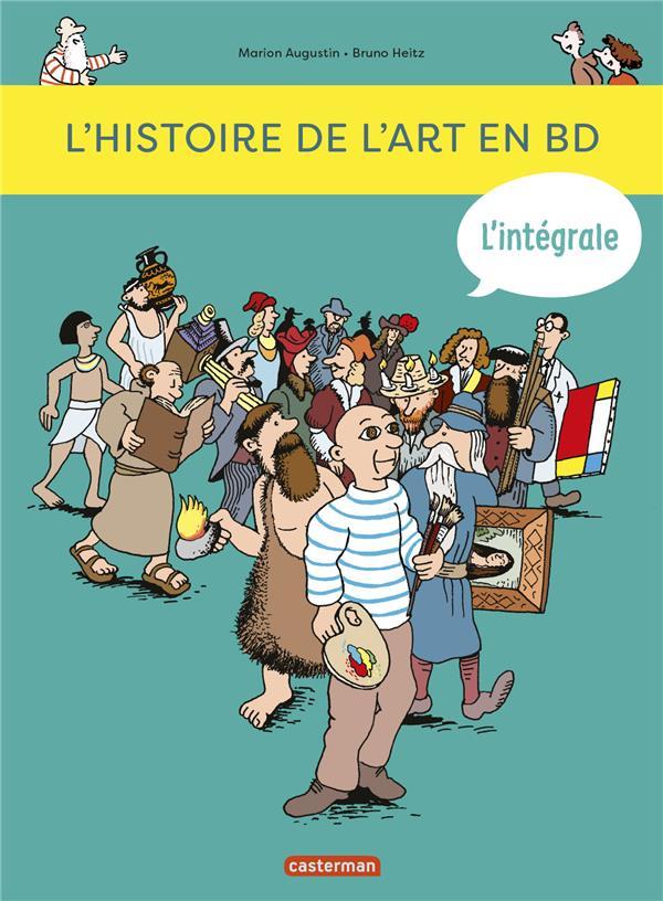 L-HISTOIRE DE L-ART EN BD - L- AUGUSTIN/HEITZ CASTERMAN