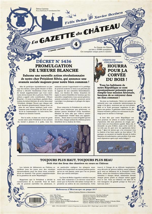 LE CHATEAU DES ANIMAUX  -  LA GAZETTE DU CHATEAU N.4