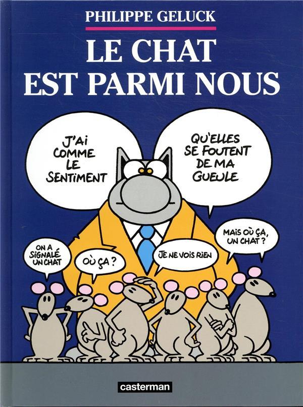 LE CHAT T.23  -  LE CHAT EST PARMI NOUS GELUCK CASTERMAN
