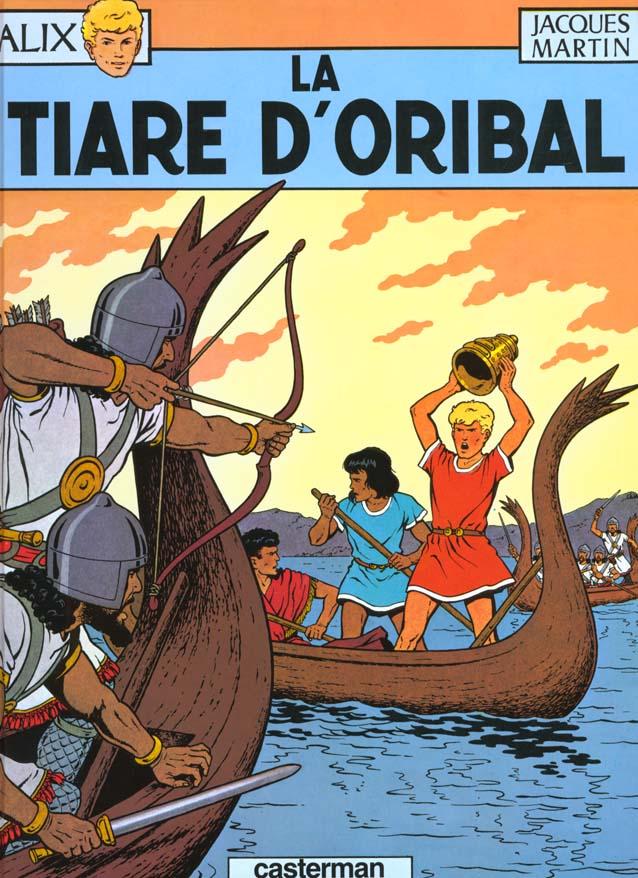 ALIX T.4  -  LA TIARE D'ORIBAL MARTIN CASTERMAN
