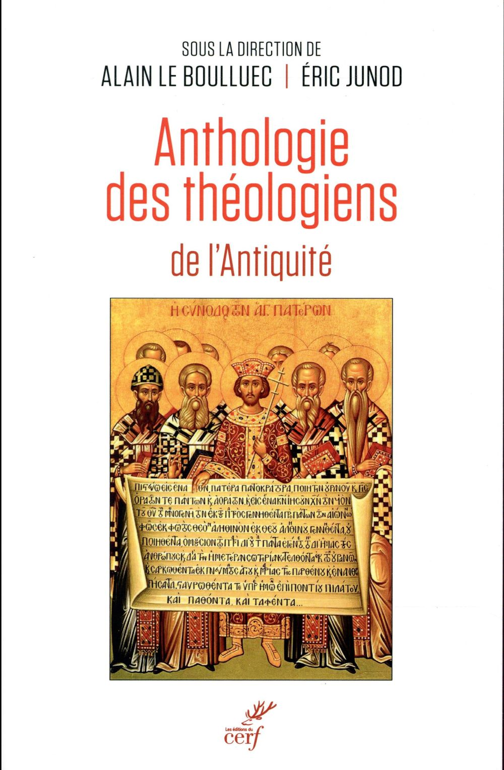 ANTHOLOGIE DES THEOLOGIENS DE L'ANTIQUITE