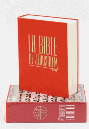 LA BIBLE DE JERUSALEM EBAF CERF