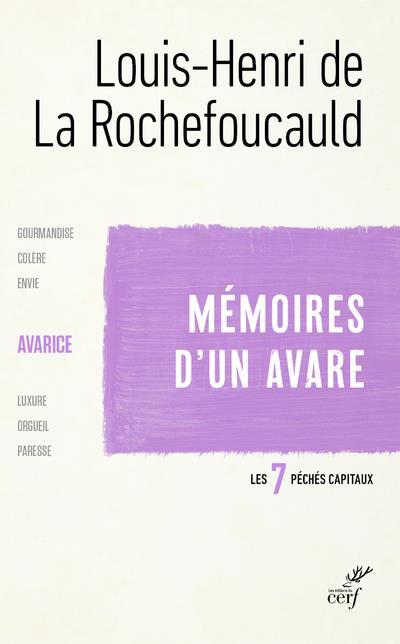 MEMOIRES D-UN AVARE - L-AVARICE