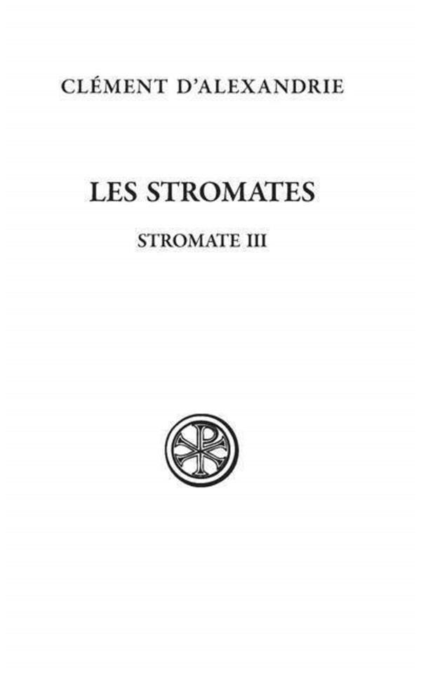 STROMATES III