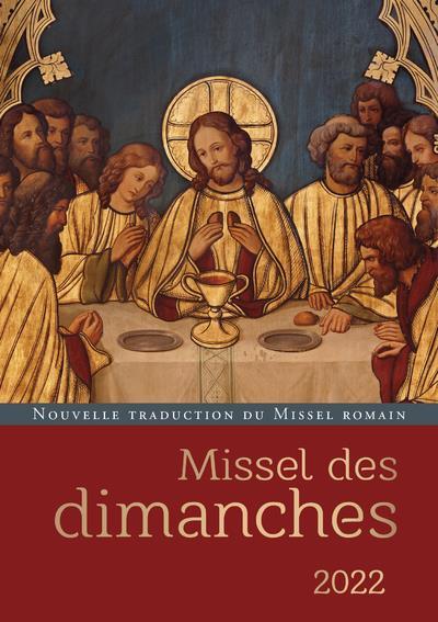 MISSEL DES DIMANCHES (EDITION 2022) COLLECTIF CERF