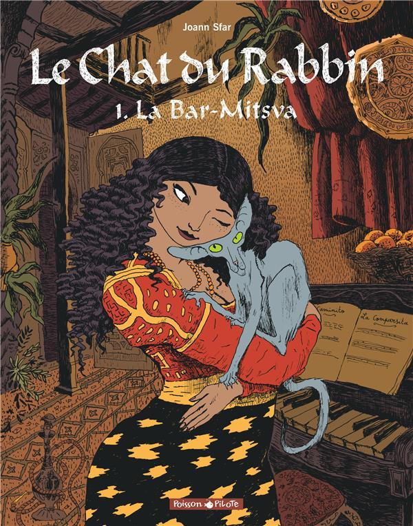 LE CHAT DU RABBIN T.1  -  LA BAR-MITSVA